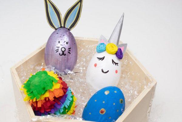Cómo decorar huevos de pascual
