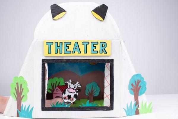 Cómo hacer un mini teatro